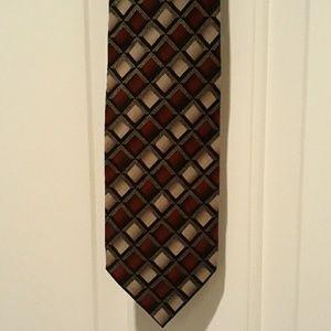 New Croft & Barrow men's necktie silk multicolor